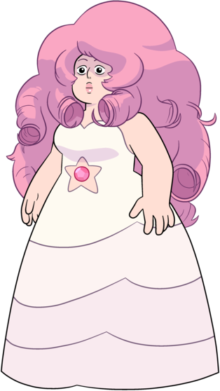 Rose Quartz from Steven Universe