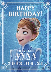 I know Anna isn't real - but I still want to wish her a Happy Birthday.