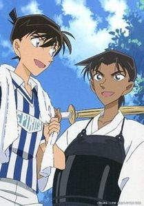 Shinichi vs Hattori