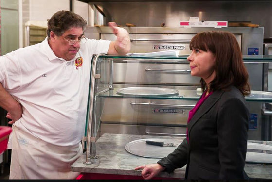 Vincent Pastore and Nyle Lynn in 'The Kids Menu'