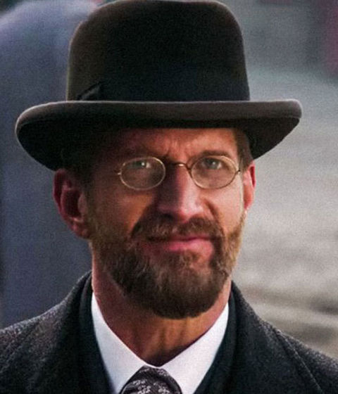 Paul Sparks as James Gordon Bennett