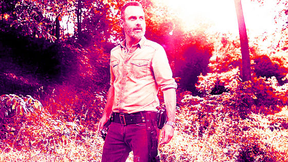 Andrew lincoln as Rick, Season 9 Character Portrait