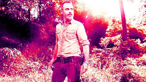 Andrew линкольн as Rick, Season 9 Character Portrait