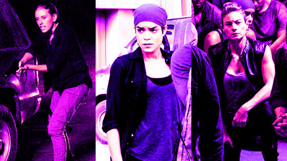 Lindsley Register as Laura, How It's Gotta Be, 8x08 / Elizabeth Ludlow as Arat, Worth, 8x15 / Traci Dinwiddie as Regina, The Big Scary U, 8x05