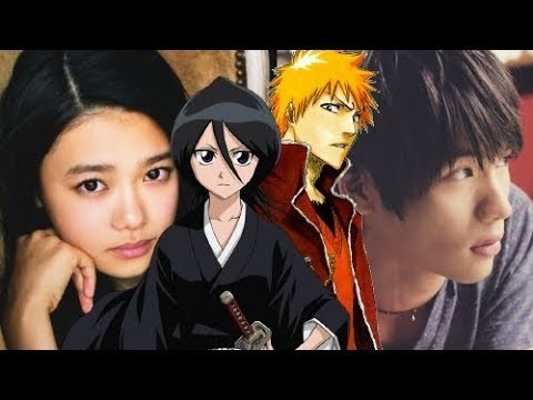 Bleach জীবন্ত and Live Action Movie. Rukia Kuchiki and Ichigo Kurosaki. Hana Sugisaki and Sota Fukushi.