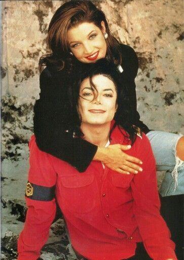 Michael And Lisa Marie Presley 1994