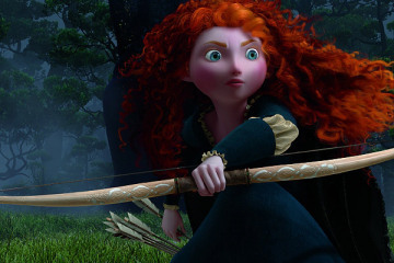 14. Merida: I really wanted to like Merida as I have a Scottish heritage and family still living in Scotland, but she harmed her mother and didn't seem to care.