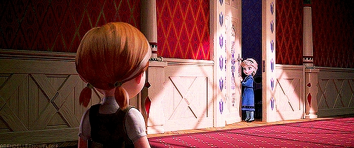 Even though she was scared of hurting Anna, I feel like she should have at least spoken to her rather than being too afraid to leave her room. Family is really important to me, and I can't imagine shutting them out the way Elsa did.