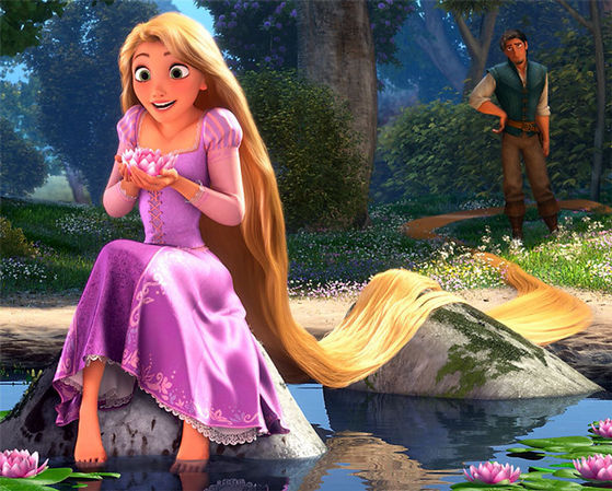 1. Rapunzel: Rapunzel is so optimistic, kind, and curious. I relate to not knowing when my life will begin and trying to stay positive and hopeful despite having been sheltered growing up.