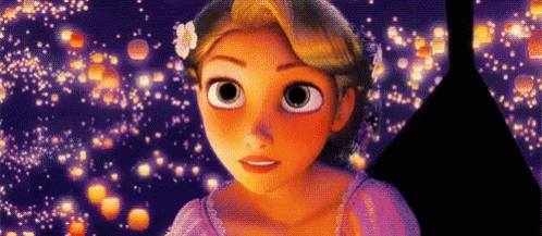 Also, I wonder if it will be all that I dream it will be, just like Rapunzel wondered if the lanterns would meet her expectations. She is realistic as she realizes that sometimes reality is different from our dreams.
