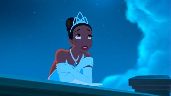 13. Tiana: I like how Tiana works hard for what she wants in life, but I also feel like she works too hard at times. She doesn't take a step back from her life and realize that sometimes things happen for a reason.