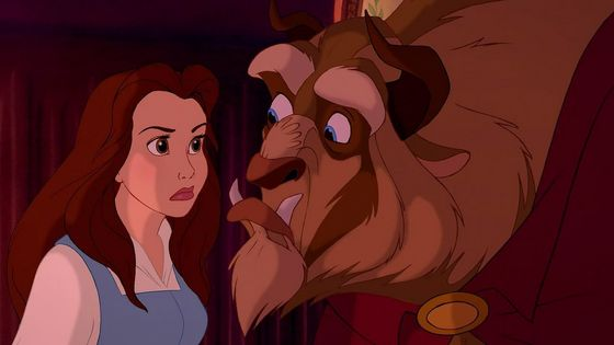 Belle can have a temper at times and not really find the happiness in her situation at the beginning of the movie, so I don't relate to those parts of her as much, but she is still a great character.