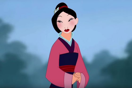 10. Mulan: I really appreciate Mulan's courage to stand up and fight for her family. She showed that she was willing to die to keep her father safe.
