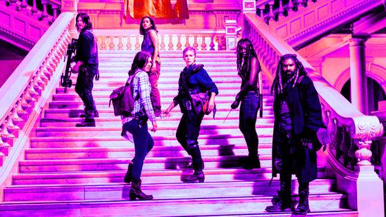 Daryl, Maggie, Cyndie, Carol, Michonne & Ezekiel, 9x01, A New Beginning