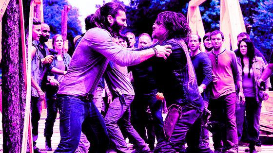 Justin & Daryl, 9x02, The Bridge