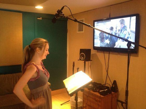 Jessica Dowdeswell - behind the scenes