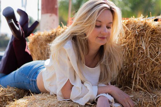 Actress Jessica Dowdeswell