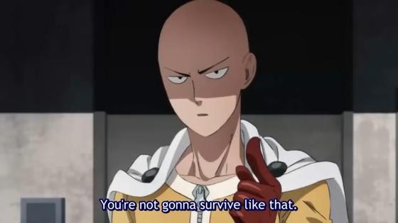 One cú đấm Man Season 2 Saitama.