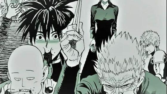 One cú đấm Man Season 2 Saitama, Genos, Bang Silverfang, Fubuki Blizzard.