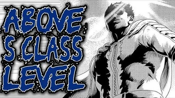 One cú đấm Man manga Blast S Class Hero Rank #1