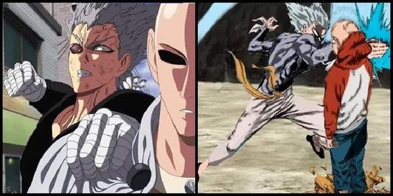 One cú đấm Man Season 2 Saitama VS Garou.