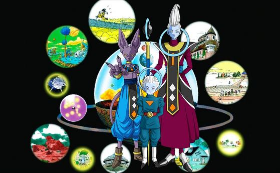 Grand Priest, Whis & Beerus