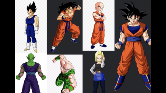 The Z-Fighters, ( Leaves  from earth to try and save another species from extinction by a great threat at Whis request.)