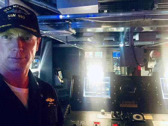 Matthew Bellows on-set: NCIS