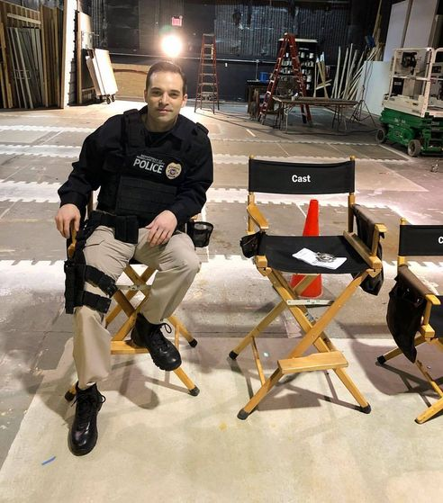 Kyle Klaus - on set