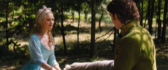 Ella and Prince Kit meet in the forest