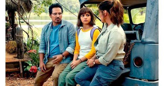 Dora and her parents!
