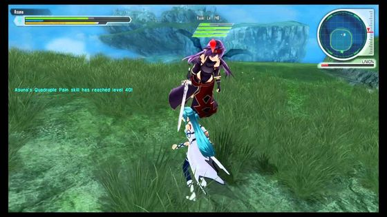 Sword Art Online Lost Song Video Game got me into SAO Series.