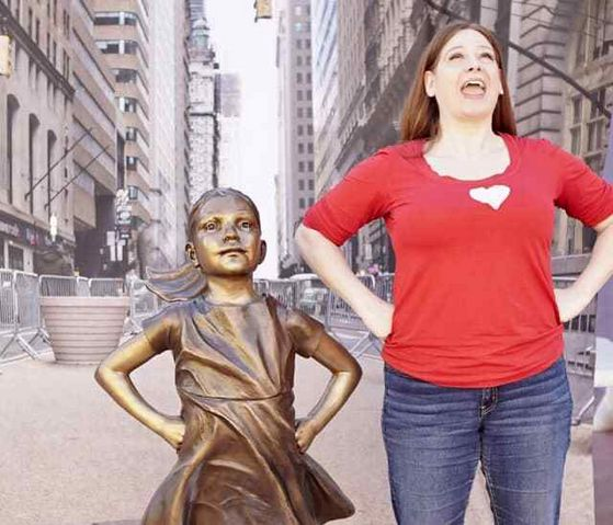 """Susan Sassi stars in """"Cathy in Real Life"""""""