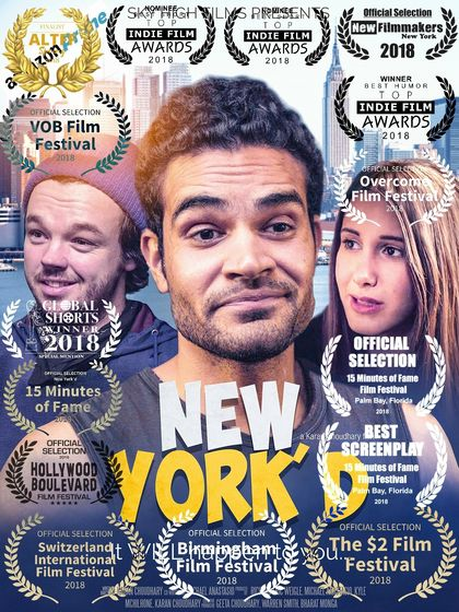 New York'd poster