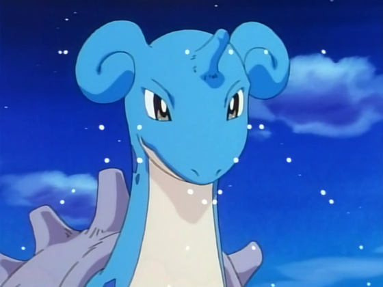 9. Lapras - I was going to have Ampharos take the number 9 spot, but i couldn't resist putting Lapras in the number 9 spot instead.