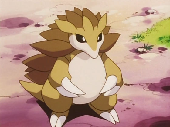 19. Sandslash - Just like  the afermentioned Rhydon and Sandile, Sandslash is another Ground type i would love to see a POP Funko figure of.
