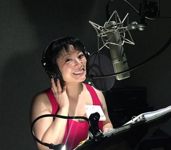 Miki Yamashita in the booth