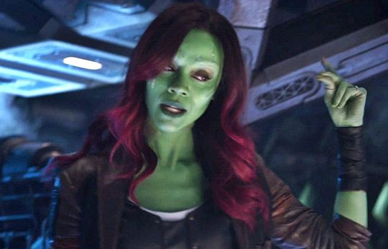 9. Gamora - Along with Loki, Gamora is another Marvel character that would be great to see in Disney Emoji Blitz.