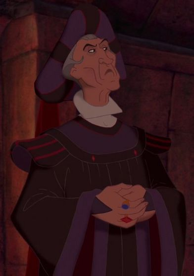 10. Frollo - It seems all too fitting i would put Frollo as my number 10 pick to close things out on a good note. Anyways, i think Frollo would be great to see in Disney Emoji Blitz.