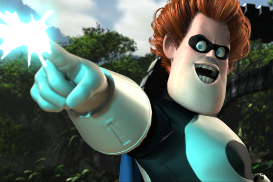 15. Syndrome - I haven't discussed any Pixar villains yet and who better than Syndrome?