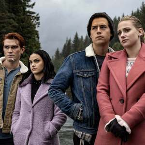 "The CW's ""Riverdale"" has spawned a boomlet of teen dramas with retro styling, moody plots and mordant wit. (Jack Rowand / The CW)"