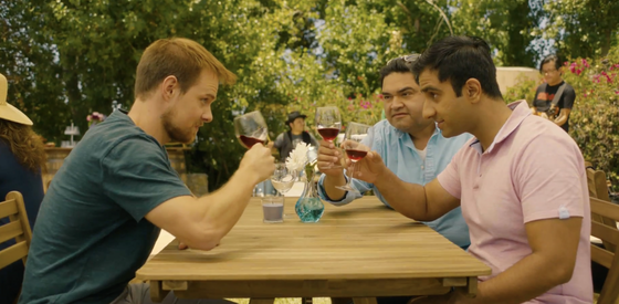 Brian McClure, Joseph Nunez, Rishi Arya (left to right) in 'In Other Words'