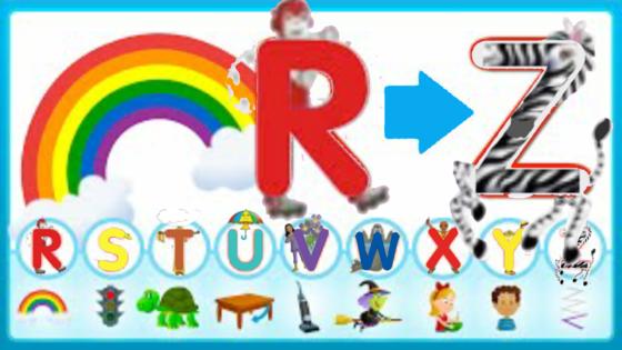 R-Z Revïew Song (UpperCase)   Super Sïmple ABCs