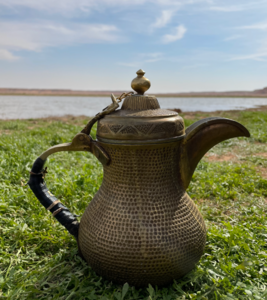 (Dallah) is a coffee pot. I loved it. got it as a gift.