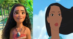 """ Moana vs. Pocahontas?"""