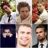 Robert Pattinson and Theo James