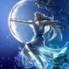 Artemis; the goddess of the moon