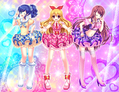Aikatsu! It's pretty much like it only with girls!