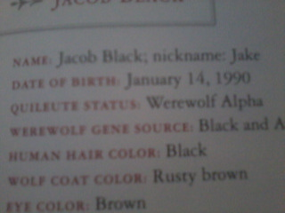 Jacob's birthday is January 14th 1990. It's in the twilight saga: the official illustrated guide. Her