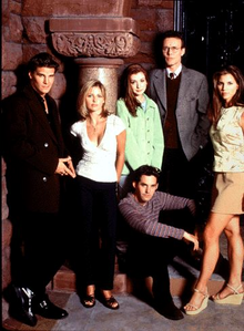 Day 28 - First tv show obsession  Buffy the vampire slayer